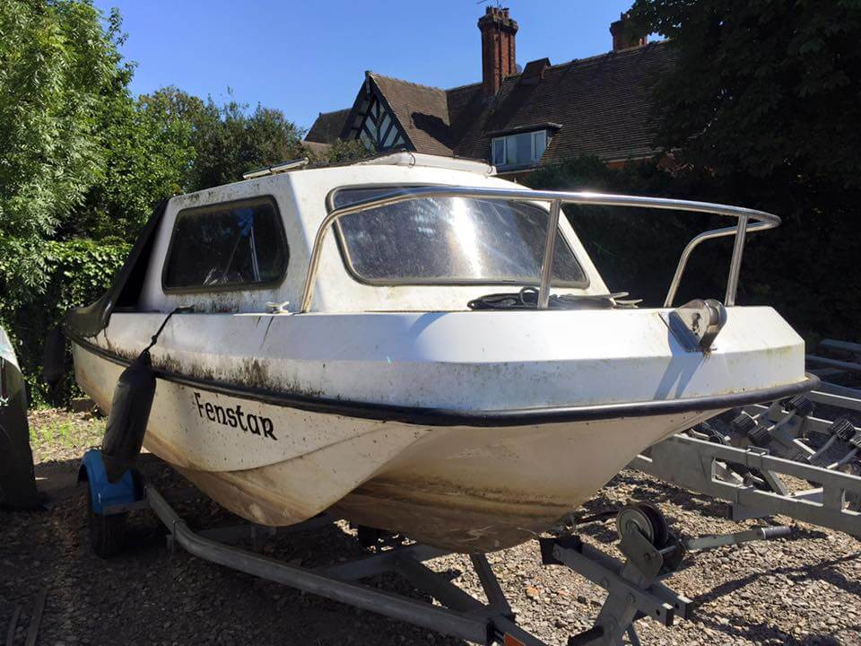 2. Boat before detailing