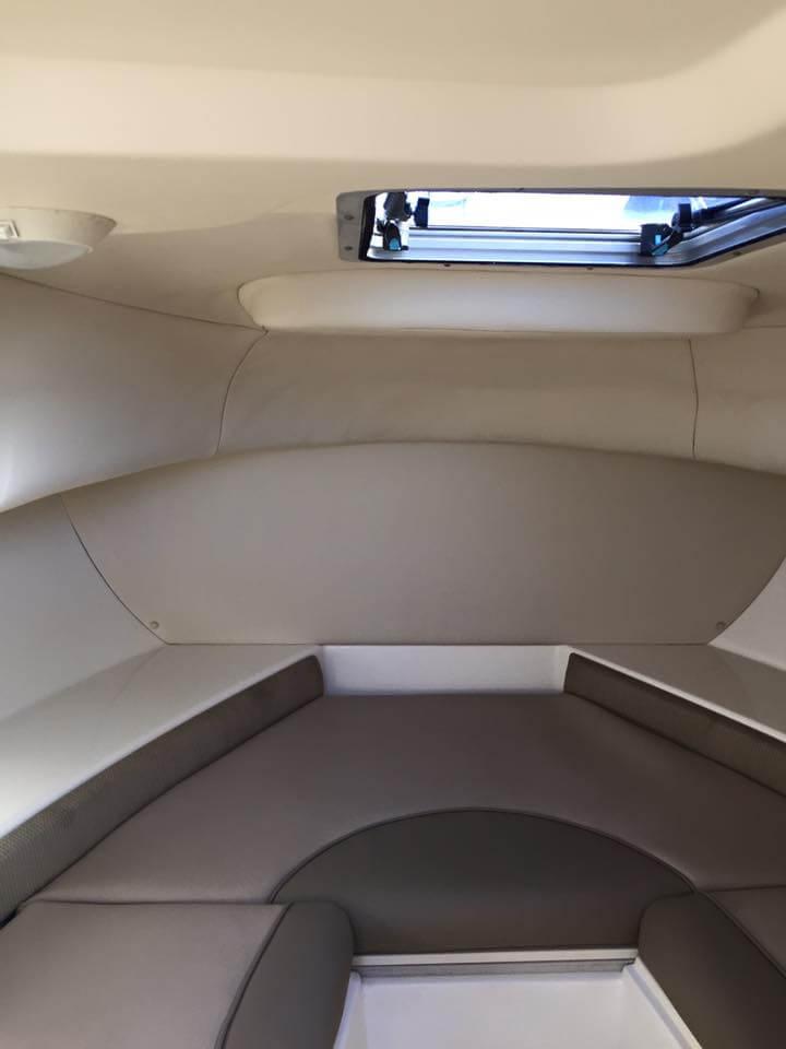 5. Boat interior after detailing