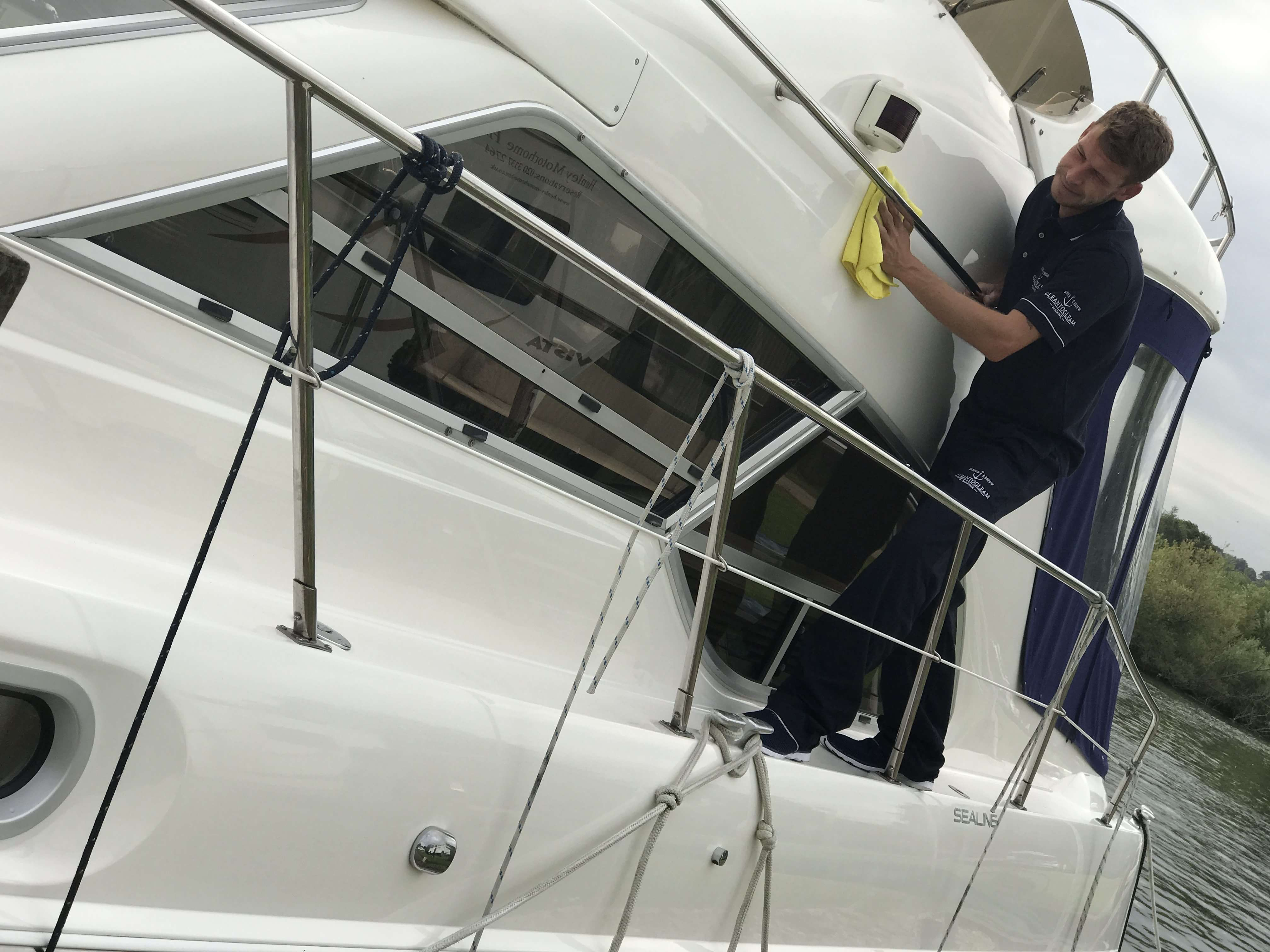 Boat Cleaning - CleanToGleam