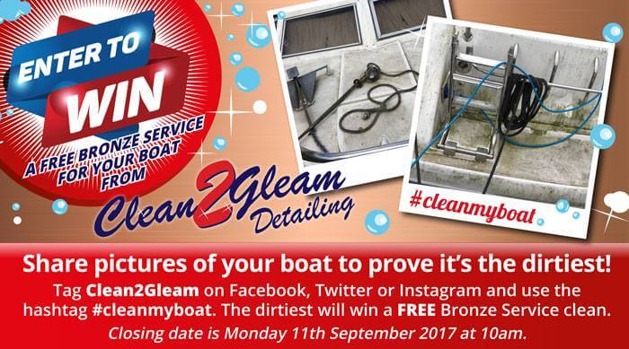 Clean boat competition - CleanToGleam