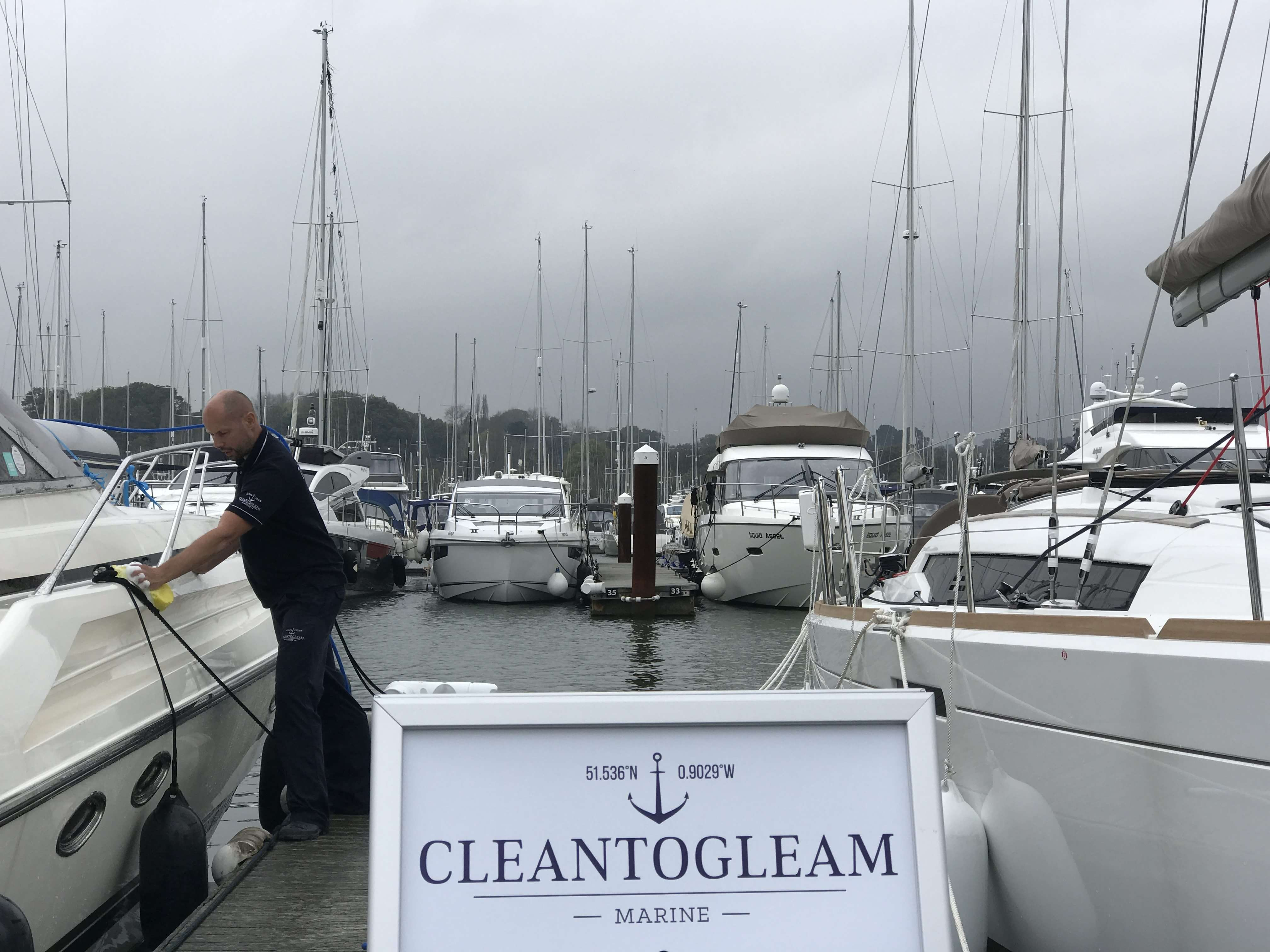 Monthly Boat Cleans - CleanToGleam